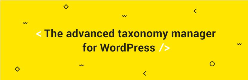 The TaxoPress plugin.