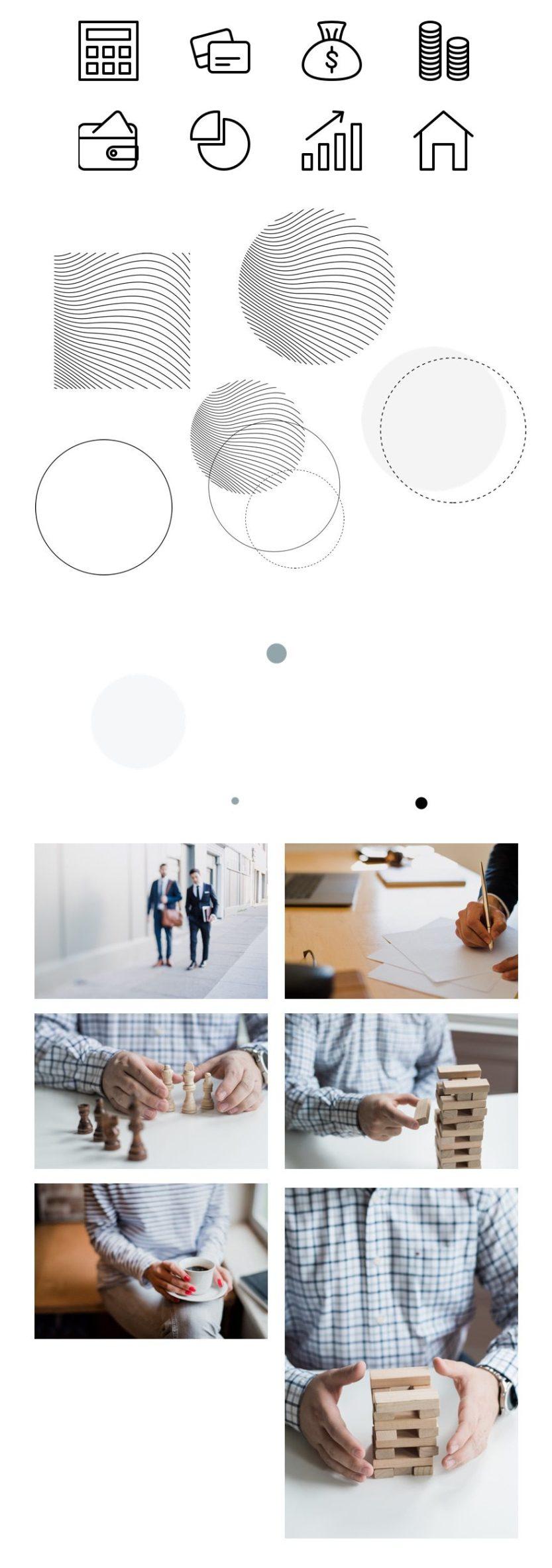 divi estate planning layout pack