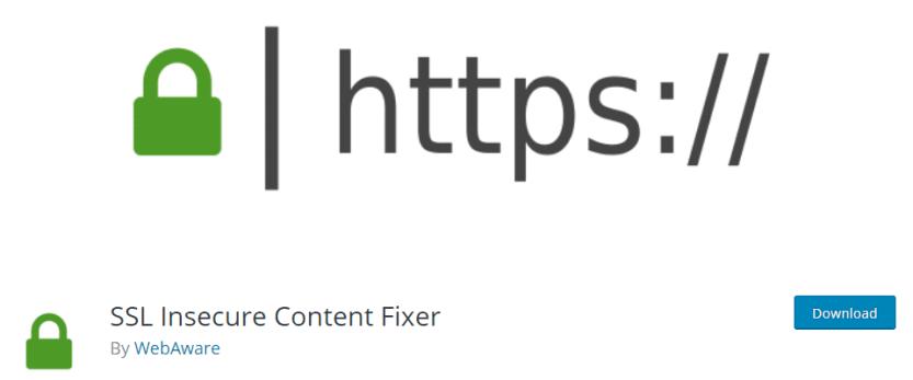ssl insecure content fixer by webaware