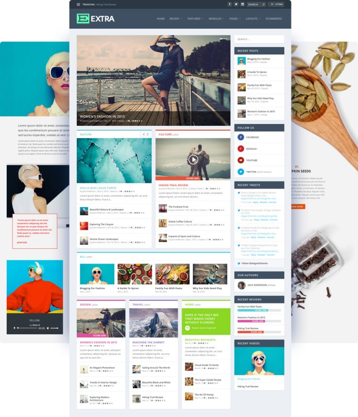 xtraReview — The Best theme for Most Standard Blogs