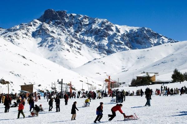 Oukaimden Ski resort day trip
