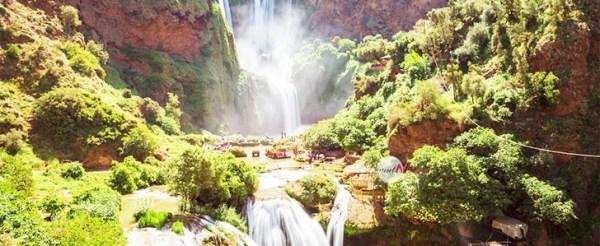 Mattakech to Ouzoud Waterfalls & imi n ifri 2 days