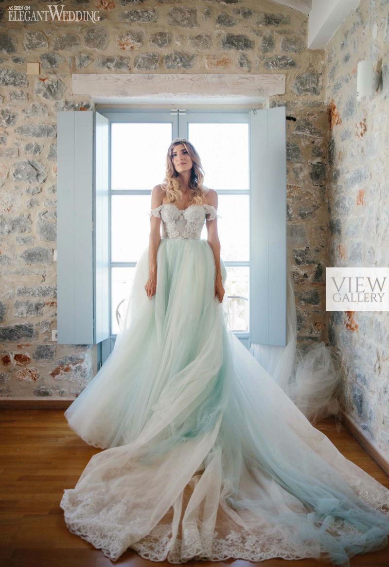Cinderella Galia Lahav Bride In Greece ElegantWeddingca