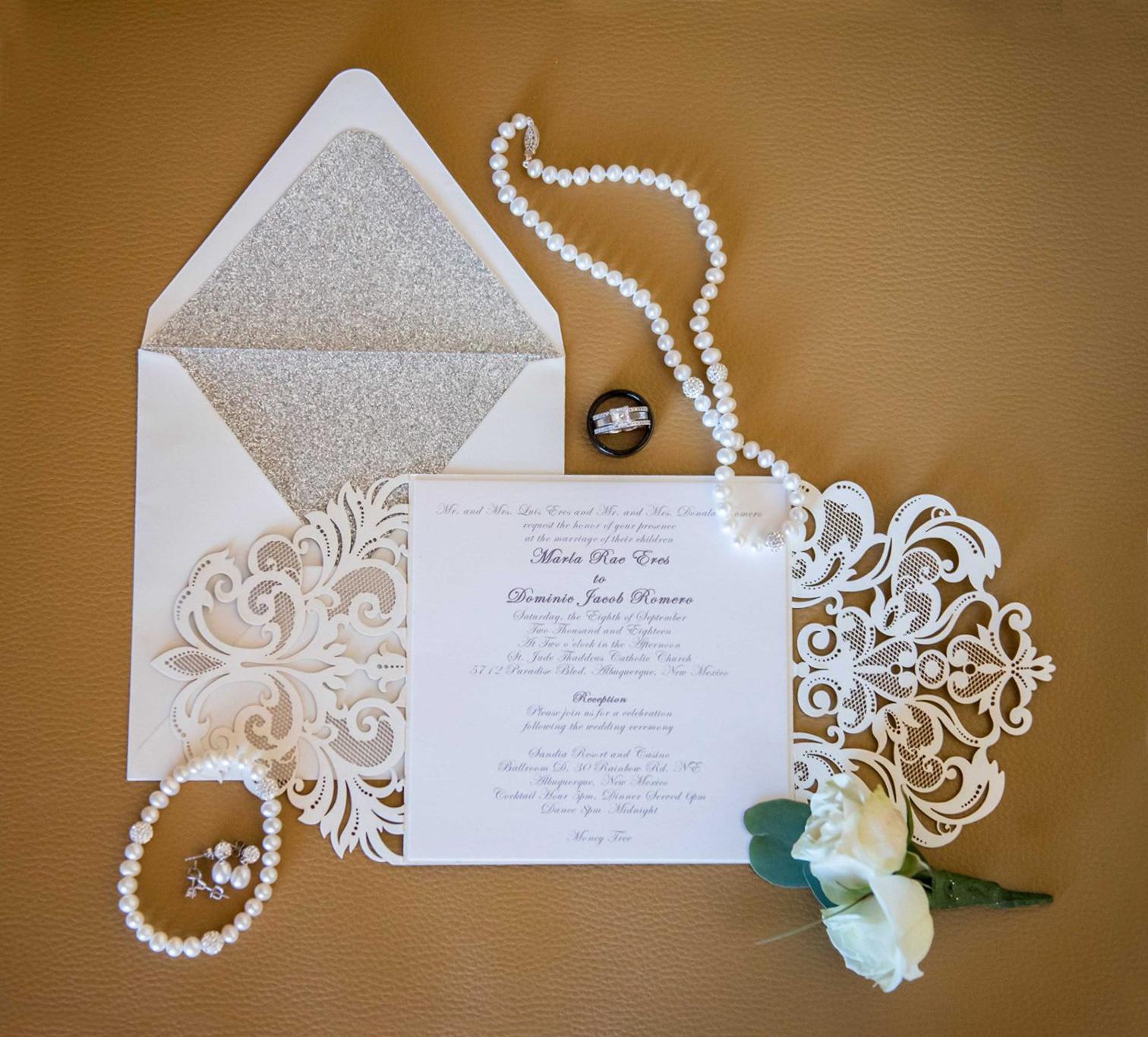 affordable wedding invitations with response cards at elegant wedding invites