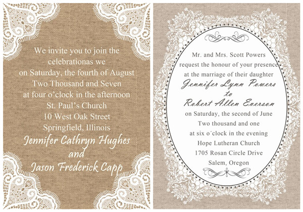 Wedding Invitation Wordings To Invite Friends Part Two