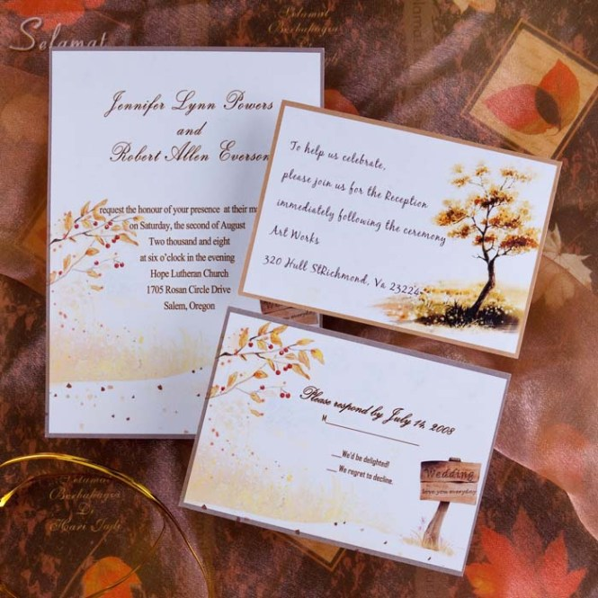 Top 6 Rustic Wedding Invitations For