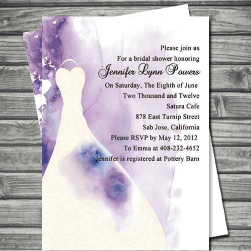 Popular Bridal Shower Invitations