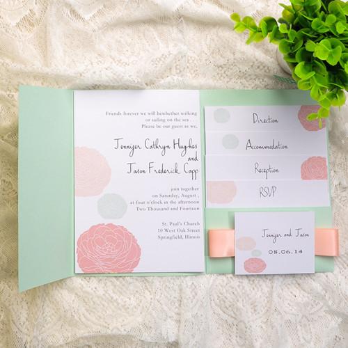 Mint Wedding Ideas And Invitations