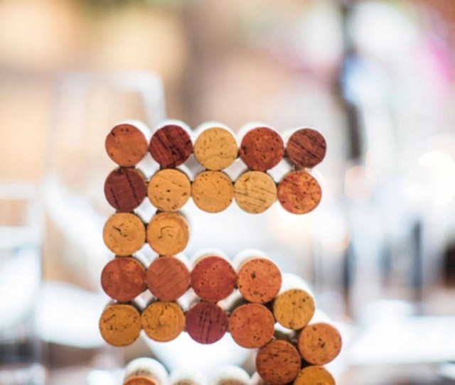 Country Rustic Diy Wine Cock Wedding Table Number Ideas