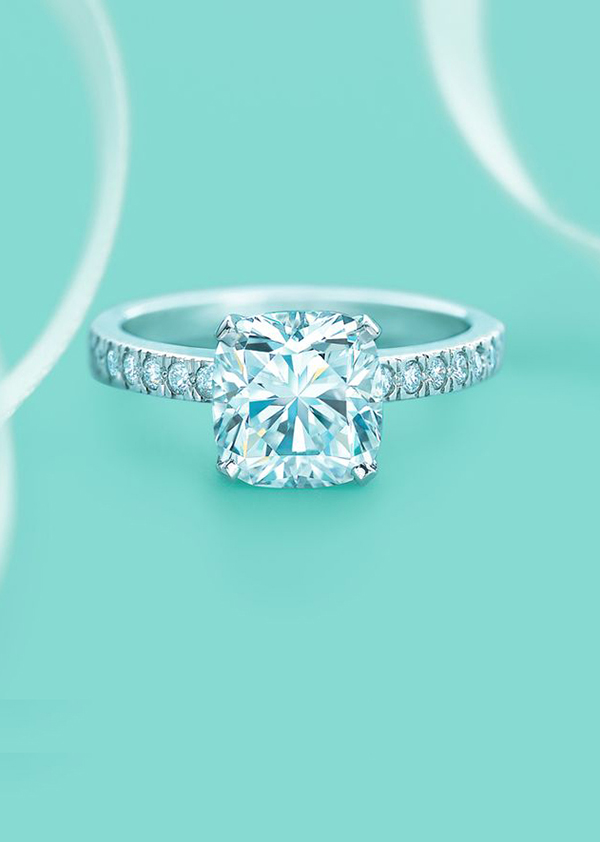 10 Breathtaking Tiffany S Wedding Engagement Rings And Matched Wedding Ideas