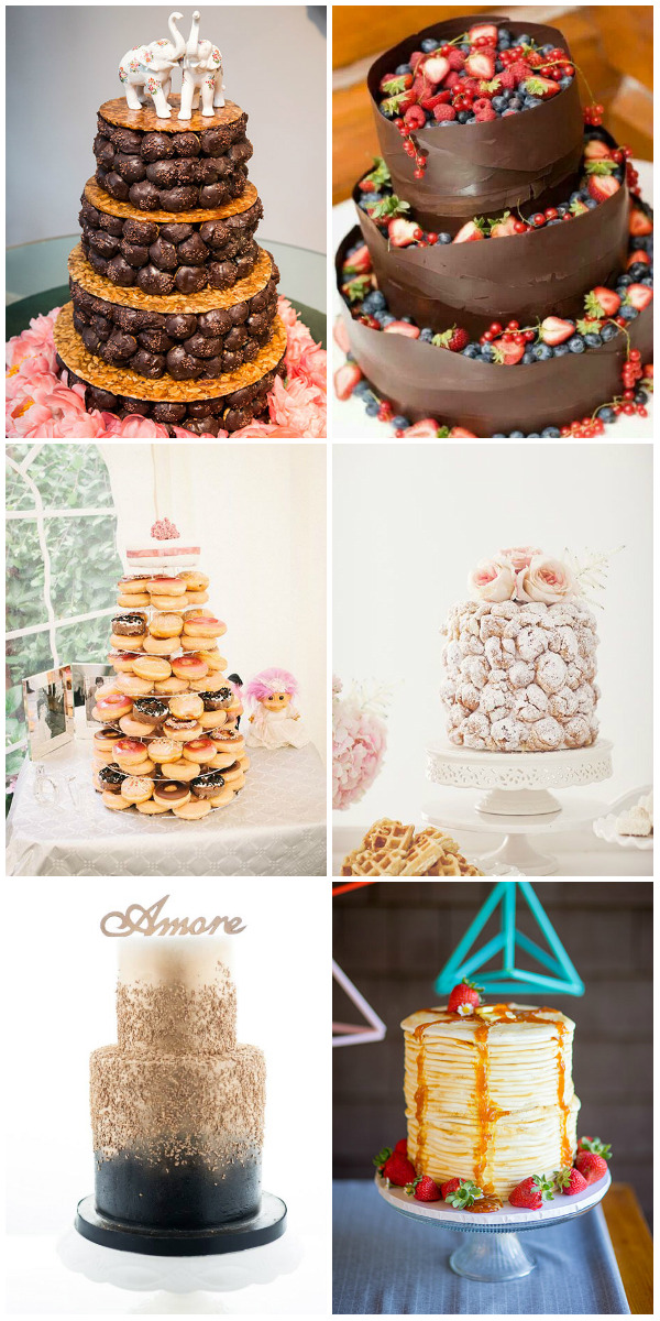 Top 22 Nontraditional Wedding Cake Ideas     Elegantweddinginvites com     nontraditional wedding cake ideas for creative couples