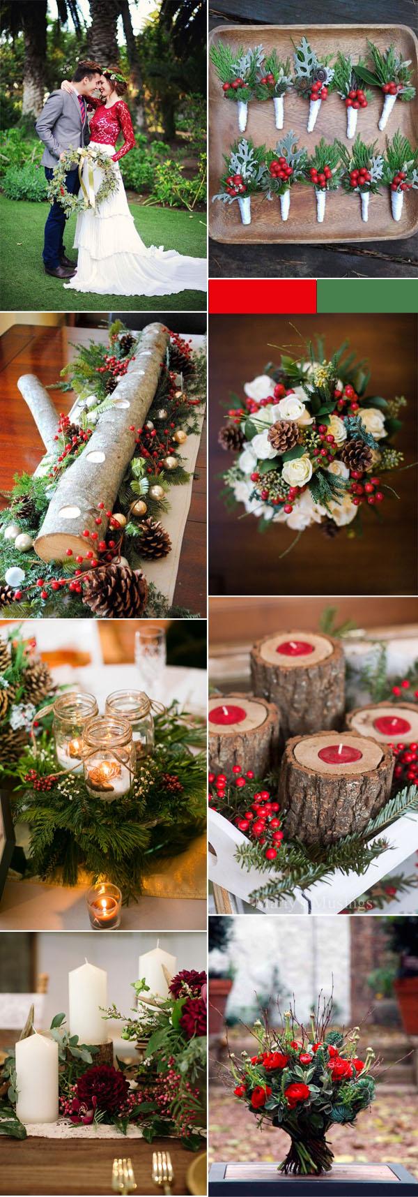 Christmas Wedding Decorations