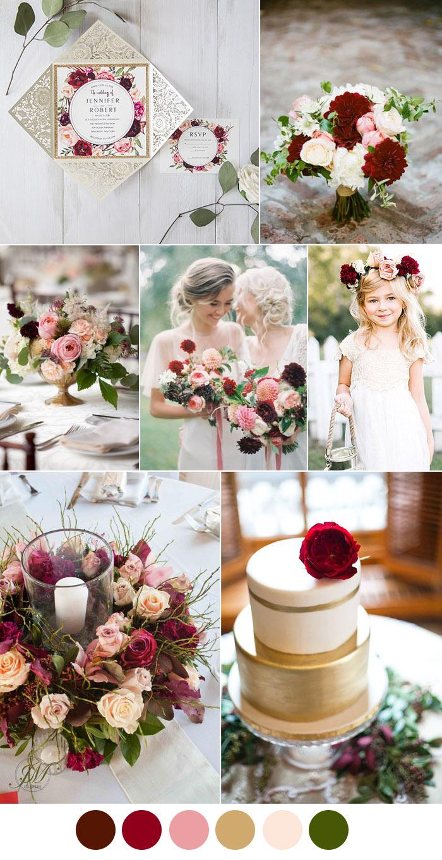 Purple Rustic Wedding Invitations