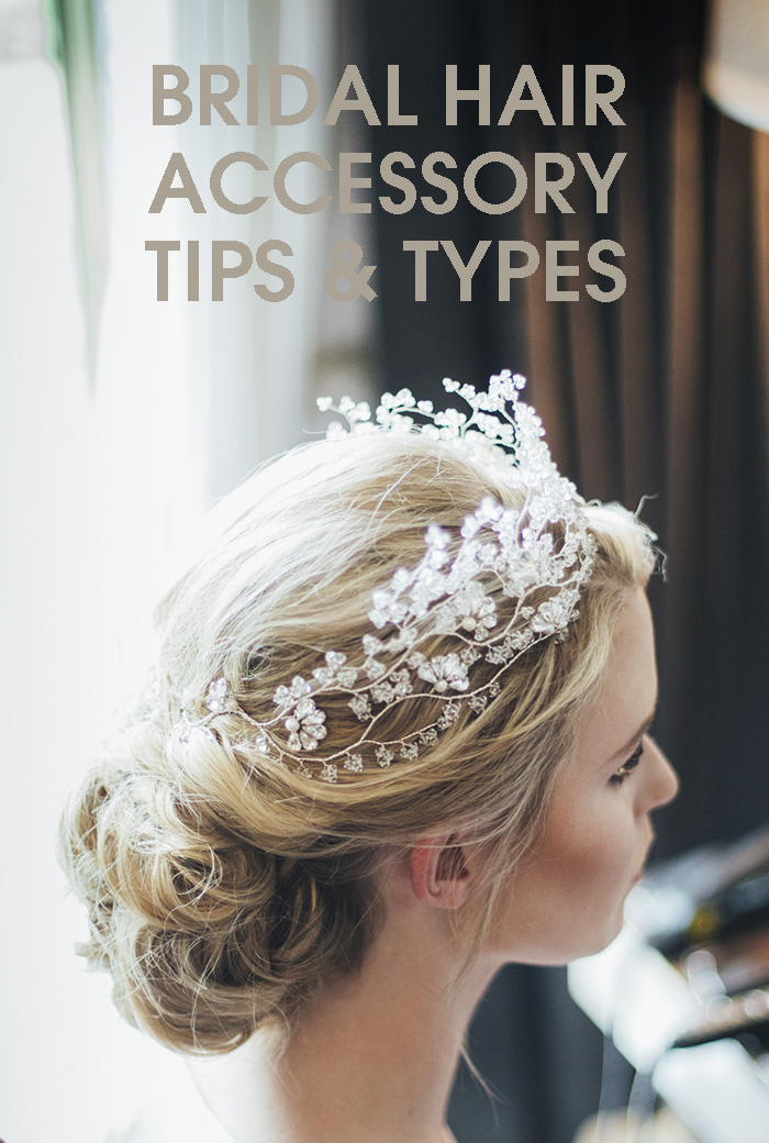 bridal hair accessory tips and types ideas