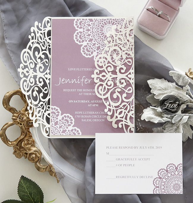 Mauve Wedding Color Combos For Fall