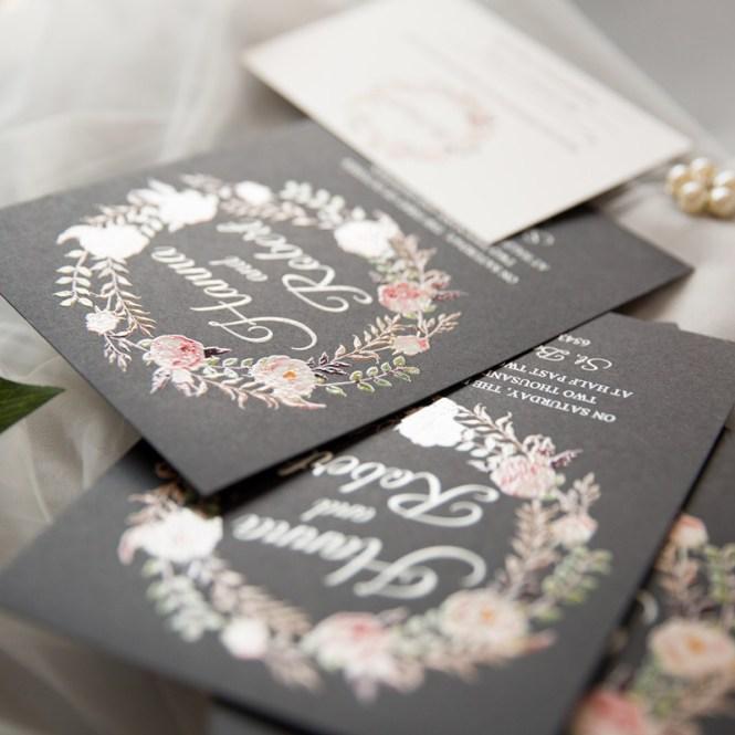 Unique Uv Printed Vellum Wedding Invitations With Diy