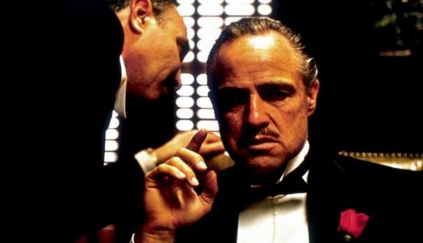 Il Padrino, Marlon Brando nei panni di Don Vito Corleone, 1972