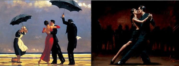 The artists of pathos - Jack Vettriano and Fabian Perez