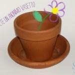 Primavera nell'aria con un vasetto colorato DIY