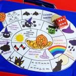 Il gioco dell'oca magnetico, versione Halloween