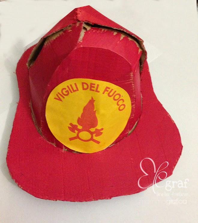 prestazione affidabile prezzo di strada prezzo interessante Costume e cappello pompiere fai da te senza cucire | Elegraf