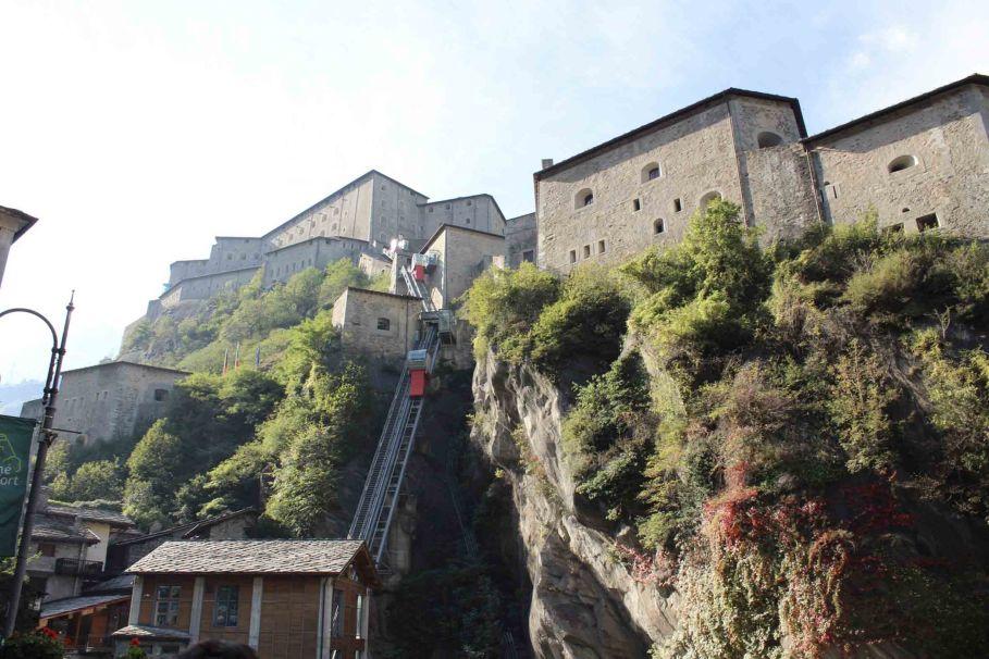 Aosta e il Forte di Bard