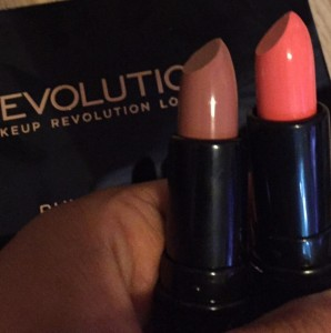 make up revolution divine lipstick the one