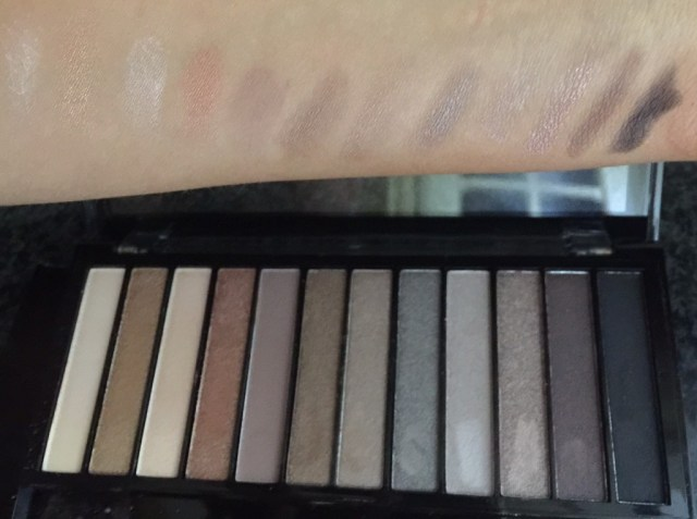 make up revolution iconic eyeshadow palette review swatches