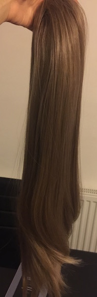 Koko couture long ponytail harvest blonde