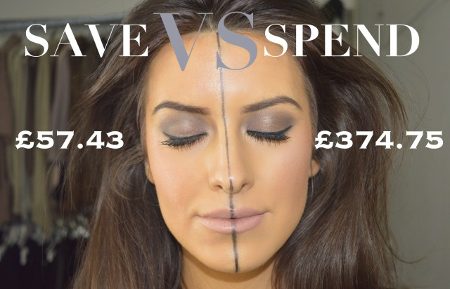 spend vs save makeup