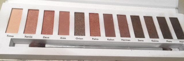 Contour Cosmetics Aphrodite palette - No Flash