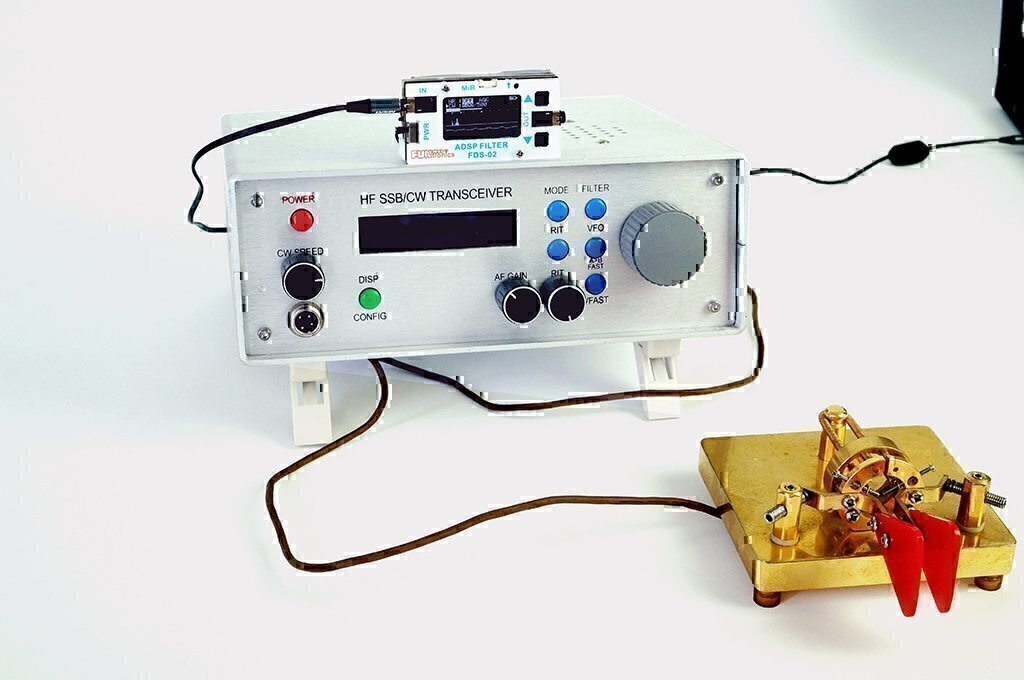 External Audio DSP Filter Module for SSB & CW, FT8x7 DSP Filter