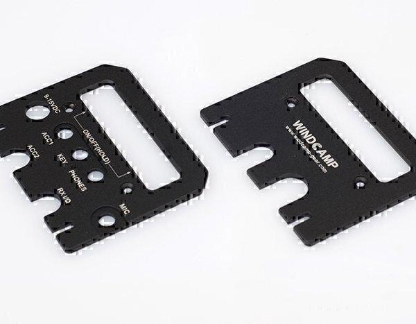 Elecraft KX3 Protection Kit: Side Plates, Lexan Cover, Heat Sink Plate
