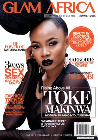 Toke Makinwa cover