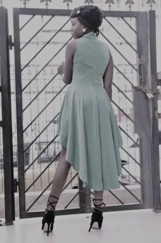 Eleksie Double breasted dress