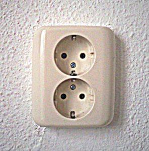 3. dubbel stopcontact