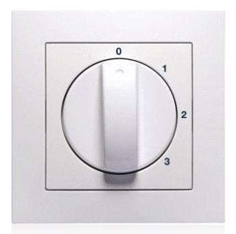 3 standen schakelaar voor b.v. ventilatie