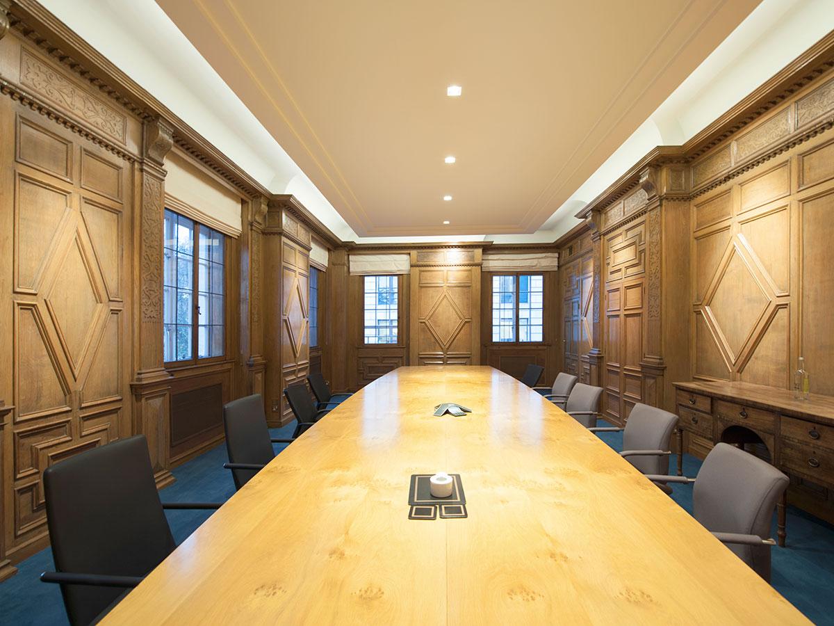 Rothschild Office London Uk Elektra Lighting