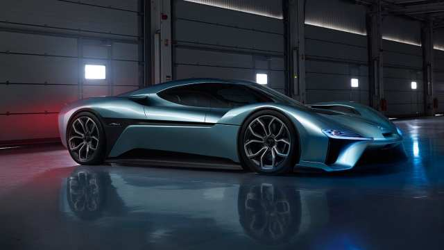 NextEV Nio EP9 zdroj: carmagazine.co.uk