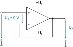 Schaltplan Impedanzwandler