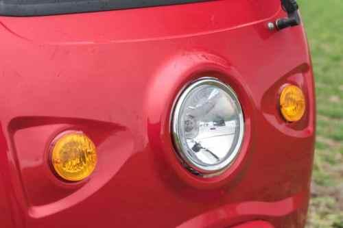 Elektrofrosch Elektro Kleintransporter Leuchten