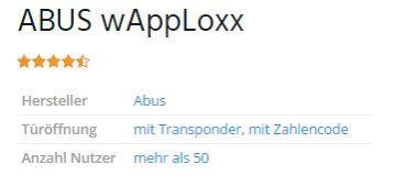 ABUS wAppLoxx