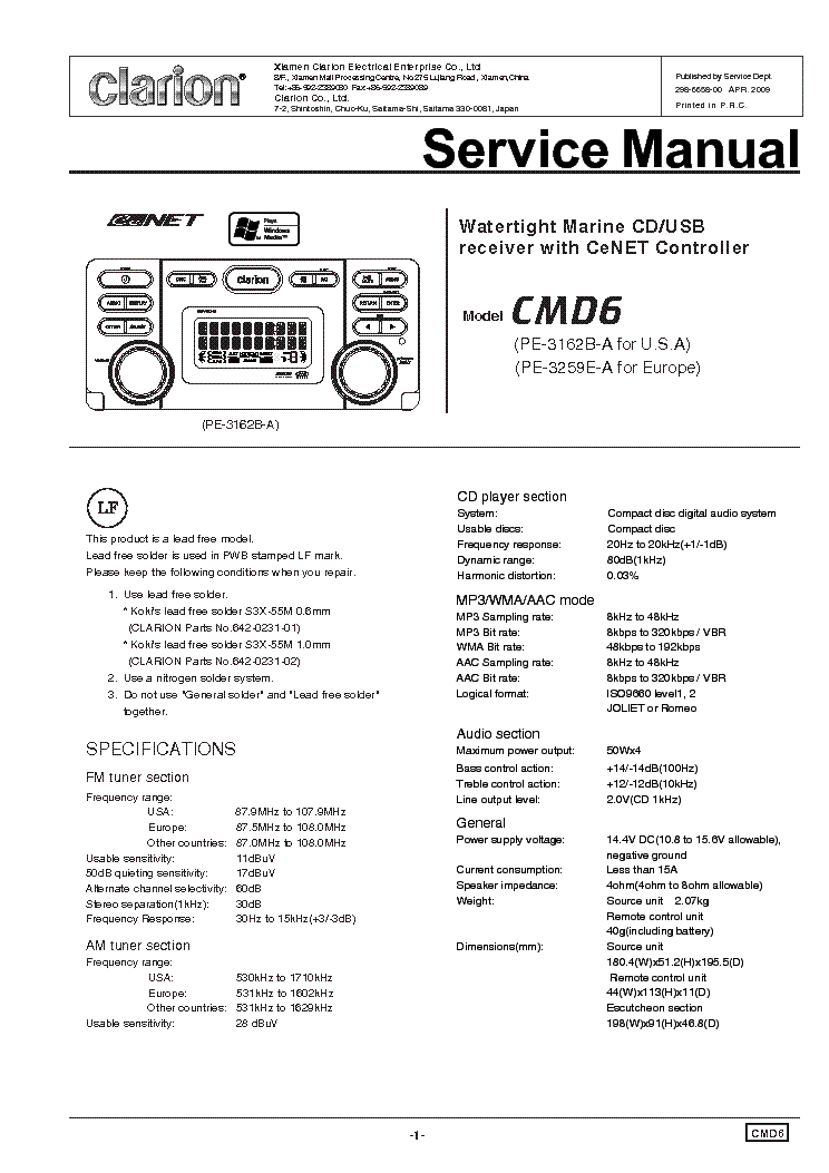 Wiring Diagram For Clarion Radio On Wiring Images. Free Download ...