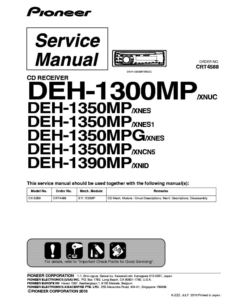 pioneer deh-p3100ub wiring diagram - wiring diagram Wiring diagram