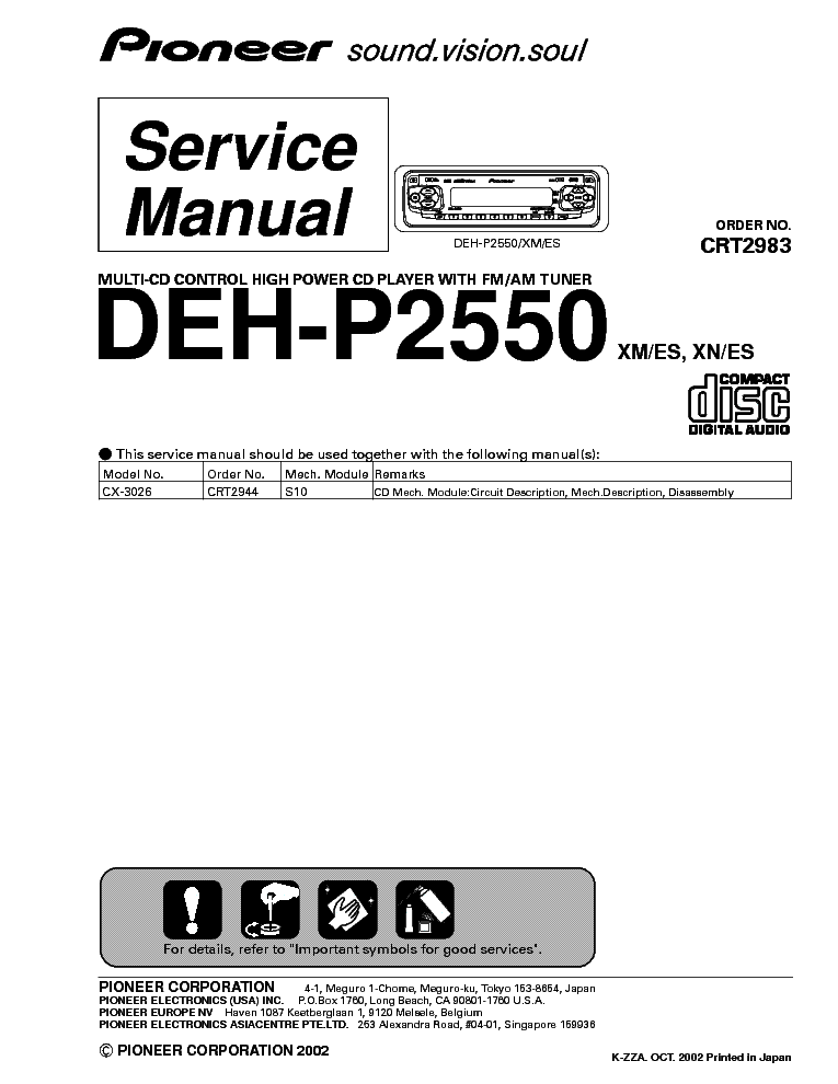 pioneer_deh p2550_sm_1.pdf_1?resize\\\=665%2C861\\\&ssl\\\=1 wiring diagram pioneer deh 405 the wiring diagram readingrat net wiring diagram for pioneer deh p6600 at gsmx.co