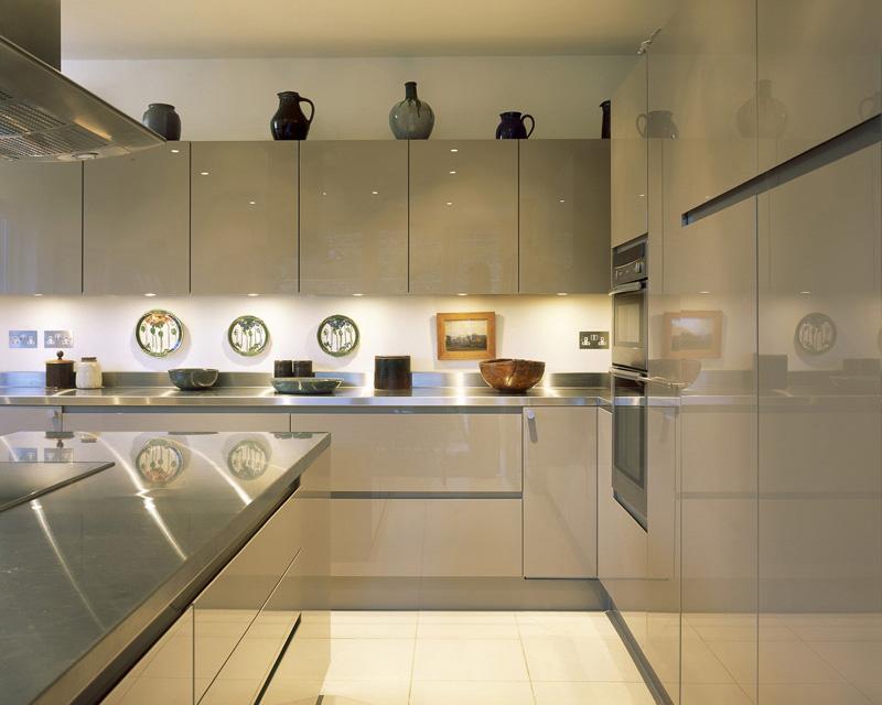 White Kitchen Door Handles