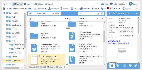 TOP 5 Web File Browser (Folders Share Access online)