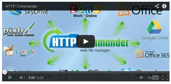TOP 5 Web File Manager (Folders Share Access via Browser)