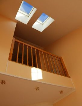 Skylight installation in San Ramon, CA by Element Roofing.