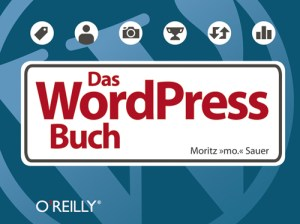 Cover Sauer WordPress-Buch